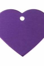 Pferdemarke Herzen aus Aluminium mit Gravur in verschiedenen Farben erhältlich!