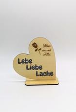KS Laserdesign Einzigartige Geschenkidee mit Glitzer akzenten und Deiner persönlichen Gravur!