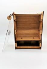 Die perfekte Geschenkidee - die moderne Weinglasbox mit zwei Weingläsern der Marke Leonardo und Deiner Wunsch Gravur!