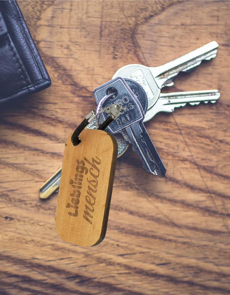 Mit deiner persönlichen Botschaft wird dein Schlüsselanhänger mit Gravur einfach einzigartig!