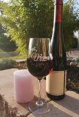 """Einzigartige Geschenke die von Herzen kommen! Das Weinglas """"Beste Mama"""" mit Gravur."""