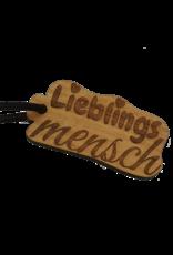 KS Laserdesign Bereite deinem Lieblingsmenschen eine Freude mit dem Schlüsselanhänger aus Holz mit rückseitiger Wunsch Gravur!