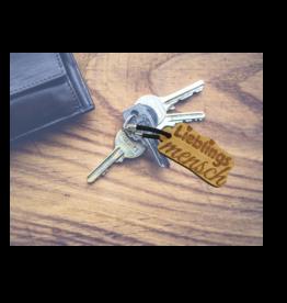 "Schlüsselanhänger ""Lieblingsmensch"" mit Wunsch Gravur"