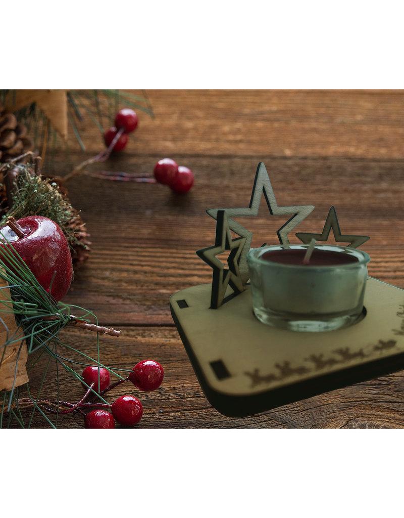 Egal ob Geschenkidee oder Dekoartikel, sorge mit dem Teelichthalter für festliche Stimmung