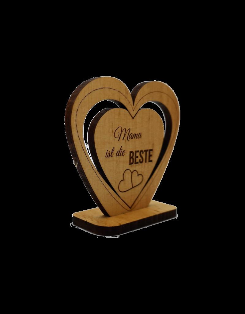 kslaserdesign Mache dein Dekoherz aus Holz einzigartig mit einer persönlichen Gravur!