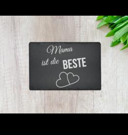 """Schieferplatte """"30x20 cm"""" mit  Wunsch Gravur"""