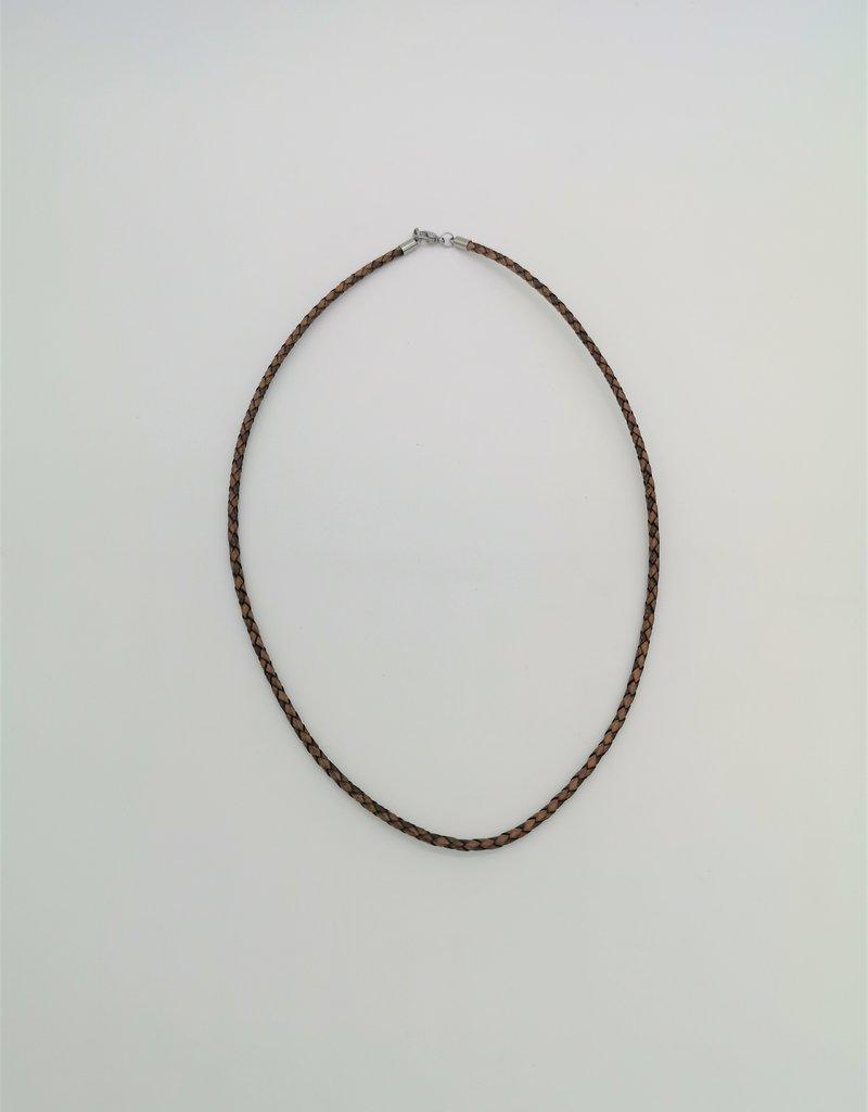 Edle Halskette aus hochwertigem Edelstahl und persoanlisierbar mit Wunsch Gravur!