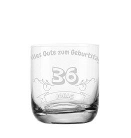 """Leonardo Whiskeyglas """"zum Geburtstag"""" mit Gravur"""