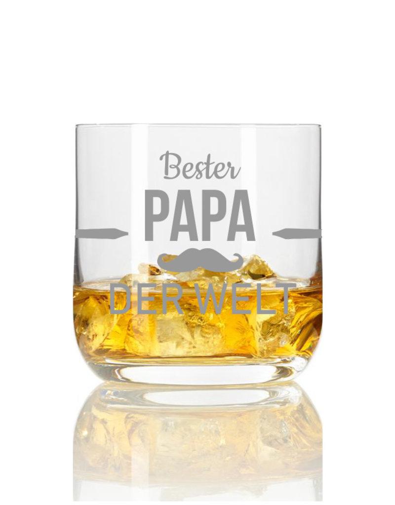 Leonardo Dein Vater ist ein echter Genießer? Dann haben wir mit dem Whiskeylgas mit Gravur das perfekte Geschenk für Dich!