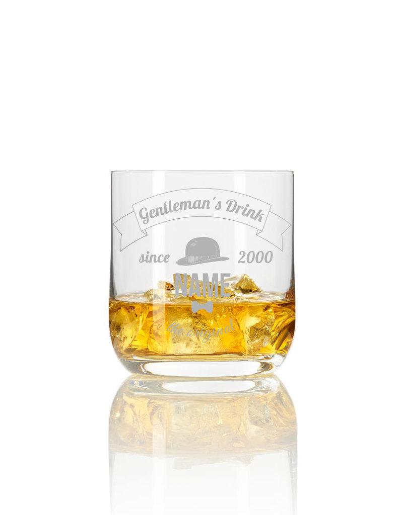 Leonardo Personalisiere Dein stylisches Whiskeyglas mit Gravur mit Wunschname und Geburtsjahr!
