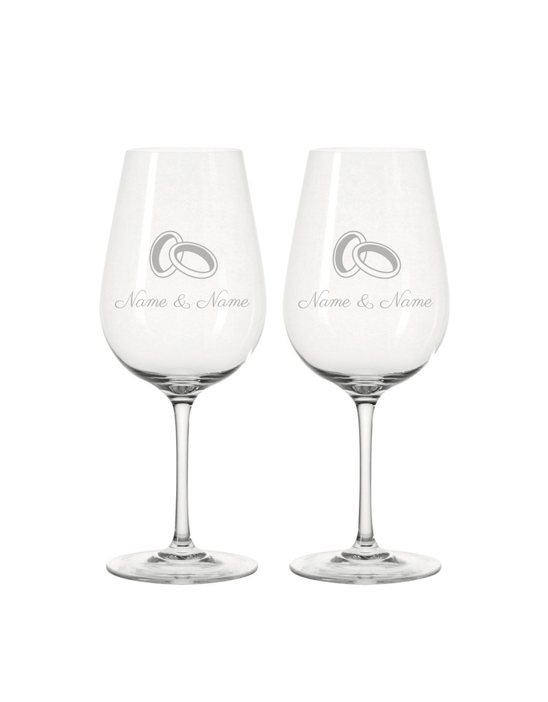 Leonardo Das ideale Geschenk zur Hochzeit, die Weingläser der Marke Leonardo mit persönlicher Gravur!