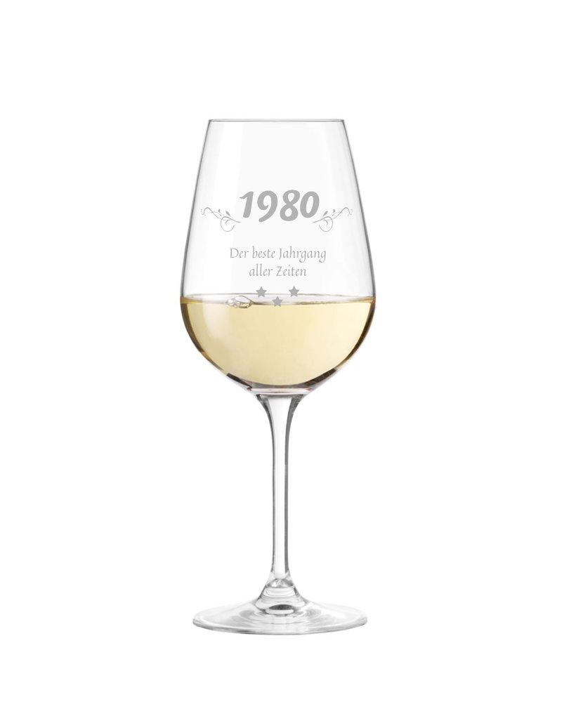 Leonardo Verschenke dieses Weinglas mit persönlicher Gravur zu vielen Anlässen, wie Jubiläum, Geburtstage und viele mehr!