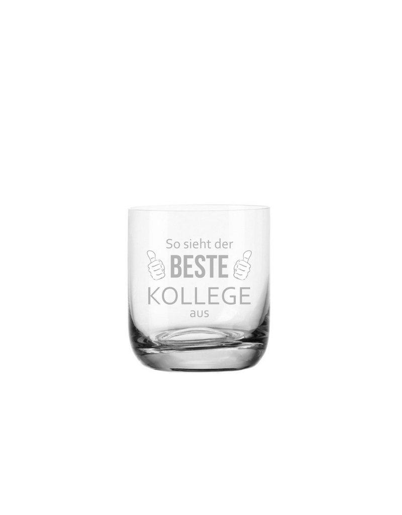 Leonardo Das Whiskeyglas für den besten Kollegen der Welt mit hochwertiger Lasergravur!