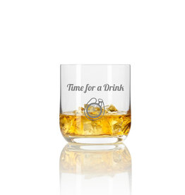 "Leonardo Whiskeyglas ""time for a drink"" mit Gravur"