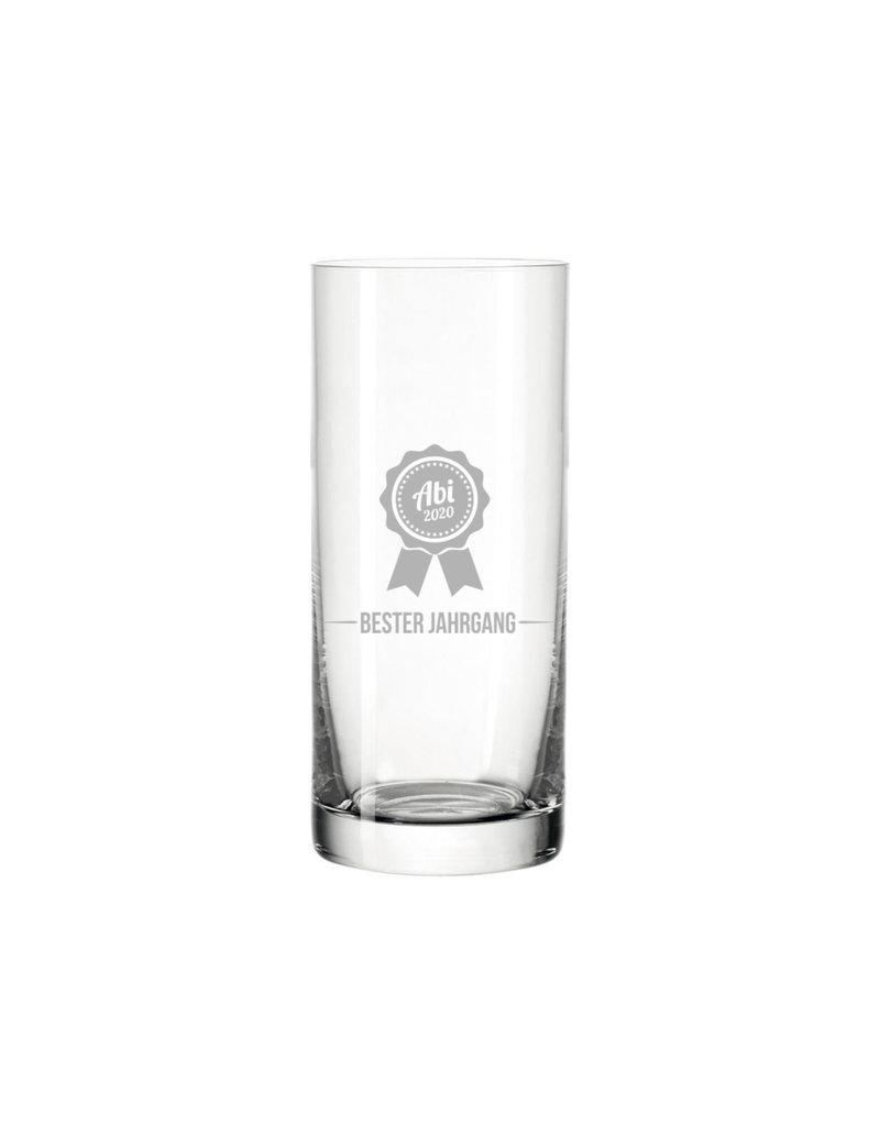 Leonardo Das Trinkglas mit persönlicher Gravur zum bestandenen Abi eignet sich als hervorragendes Geschenk!