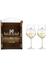 kslaserdesign Eine schöne Geschenkidee zur goldenen Hochzeit mit persönlicher Gravur!