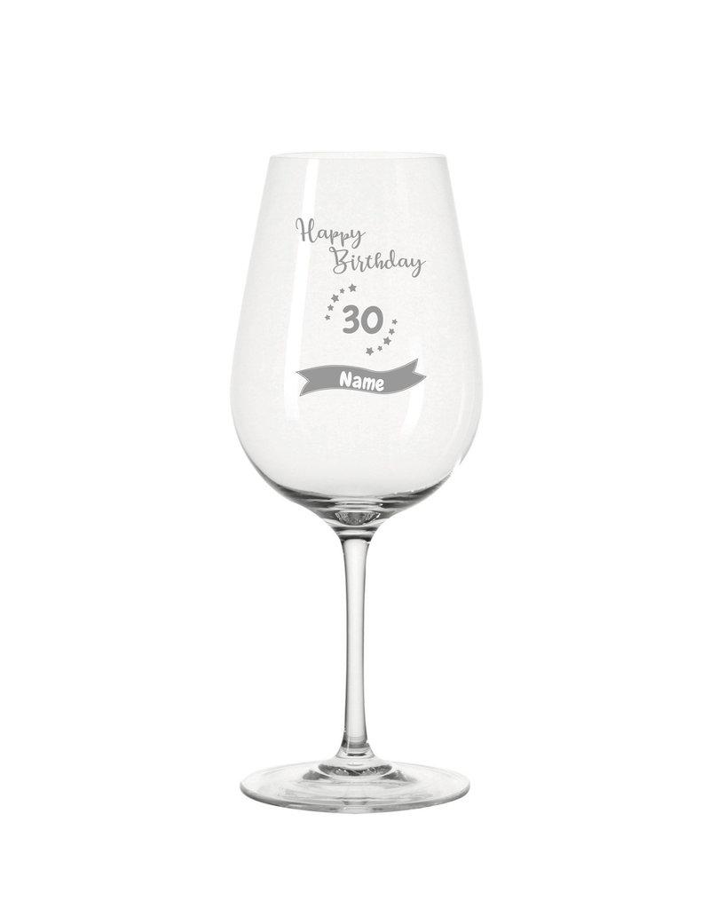 Leonardo Das Weinglas eignet sich als einzigartiges Geschenk zum Geburtstag mit persönlicher Gravur!