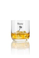 Leonardo Personalisiere das Whiskeylgas mit Thor´s Hammer mit deinem Wunschnamen und genieße dein Getränk!