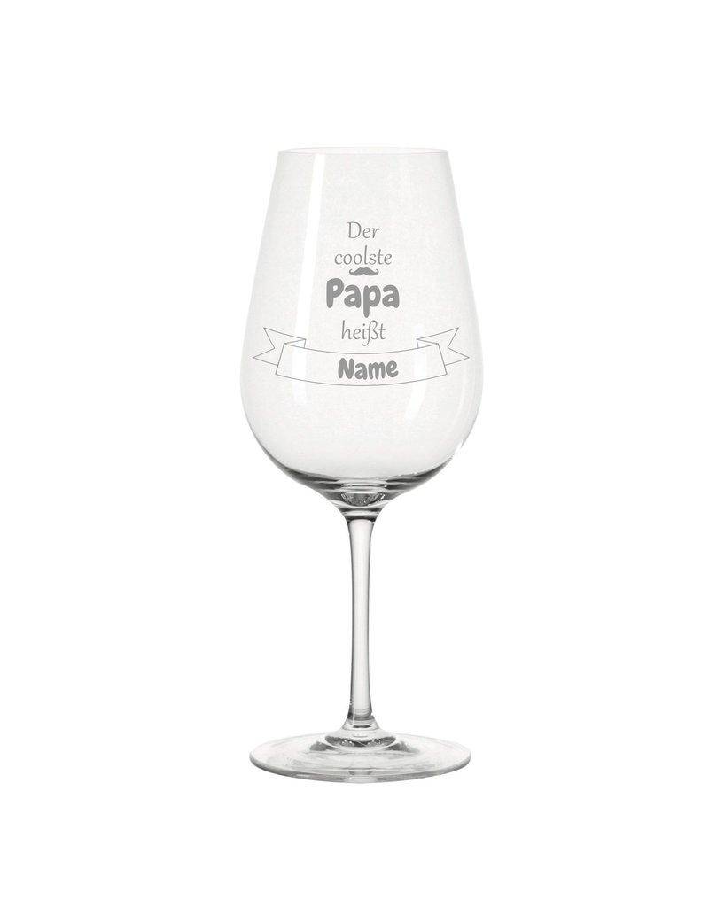 Leonardo Dank persönlicher Gravur wird das Weinglas für den coolsten Papa zum einzigartigen Geschenk!