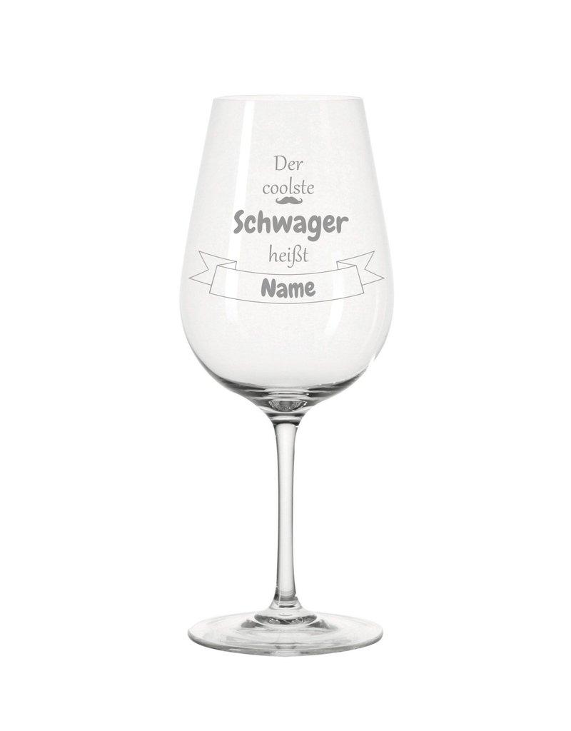 Leonardo Dank persönlicher Gravur wird das Weinglas für den coolsten Schwager zum einzigartigen Geschenk!