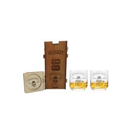 KS Laserdesign Whiskeygläser Geschenkset mit persönlicher Gravur