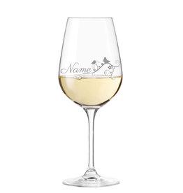 """Leonardo Weinglas """"Naturdesign"""" mit persönlicher Gravur"""
