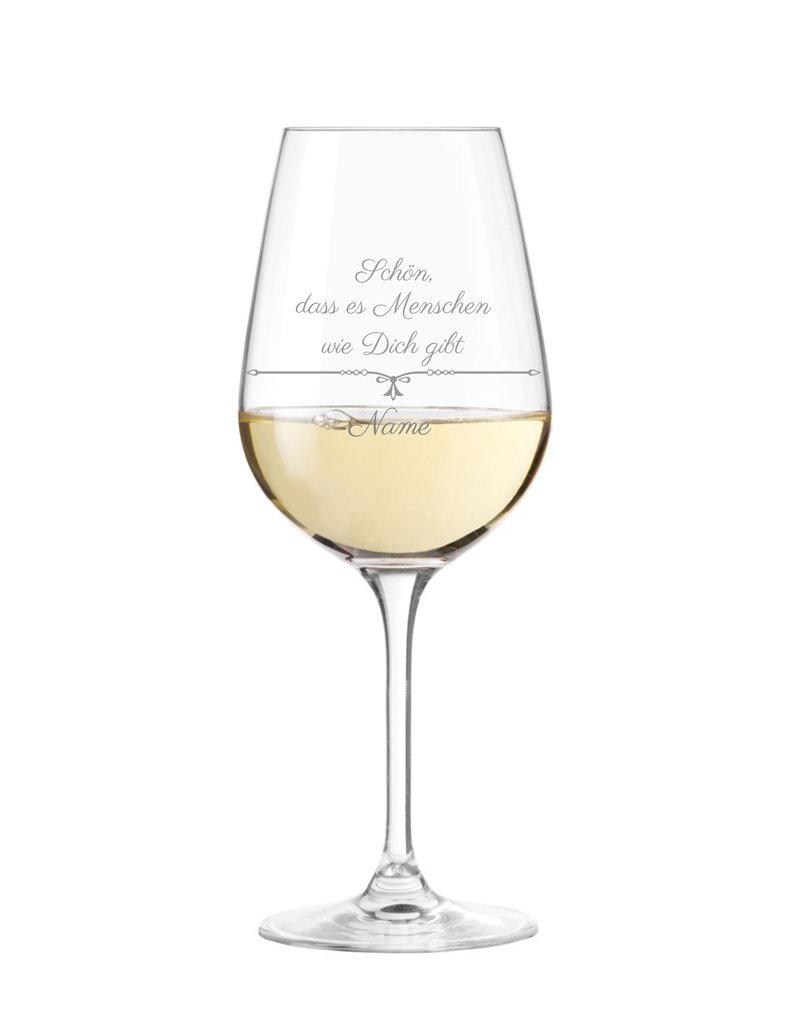 Leonardo Personalisiere das Weinglas mit schönem Spruch und mache es zu einem einzigartigen Geschenk!