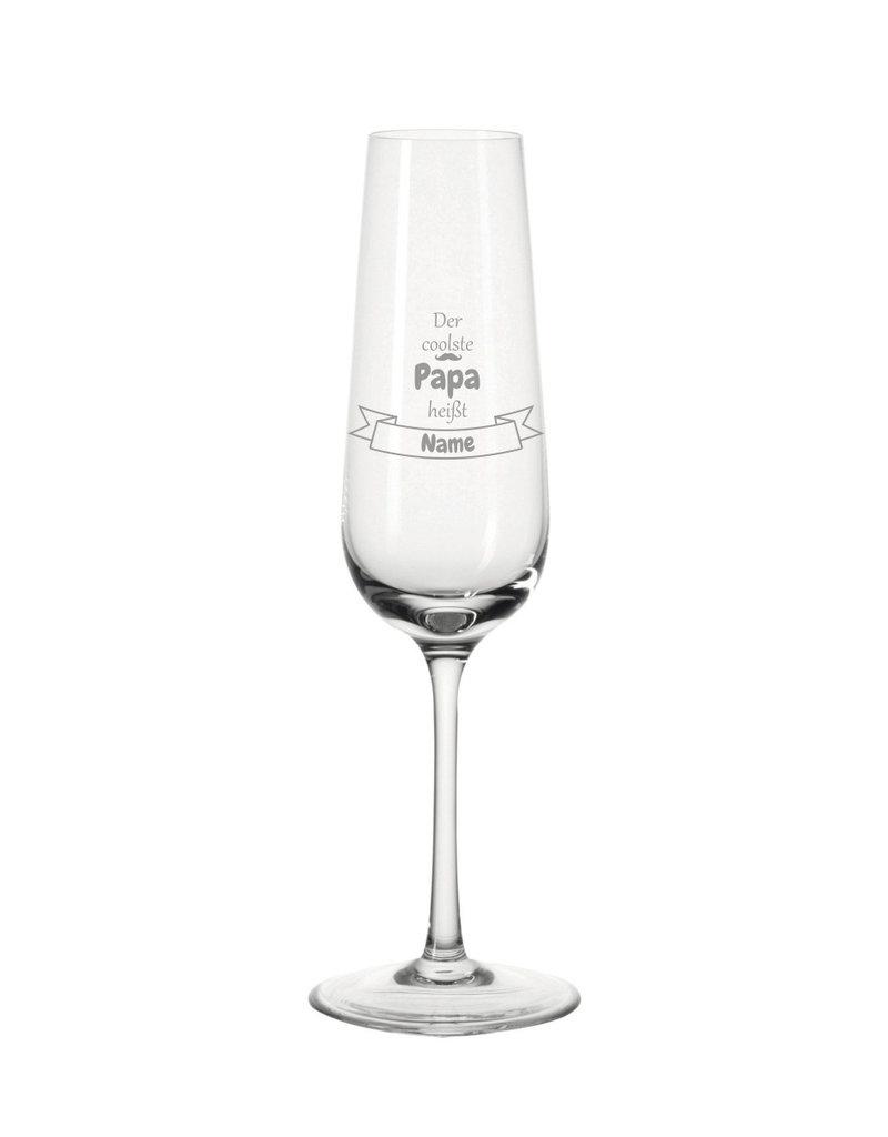 Leonardo Mache das Sektglas für den coolsten Papa einzigartig mit deiner persönlichen Gravur !