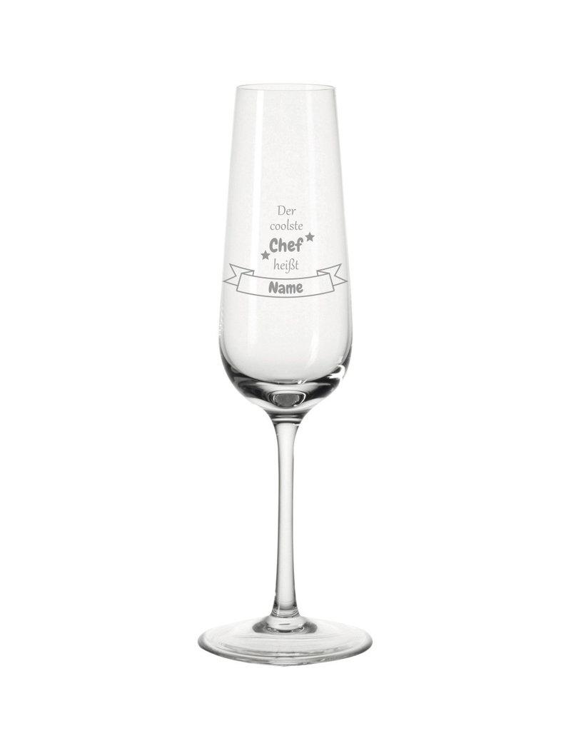 Leonardo Mache das Sektglas für den coolsten Chef einzigartig mit deiner persönlichen Gravur !