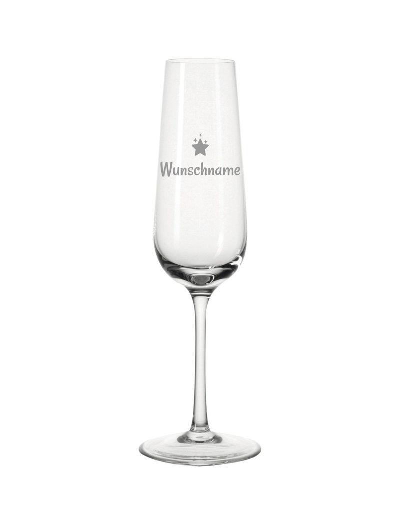 Leonardo Personalisiere dein Sektglas mit Sterne Motiven und verschenke einzigartiges!