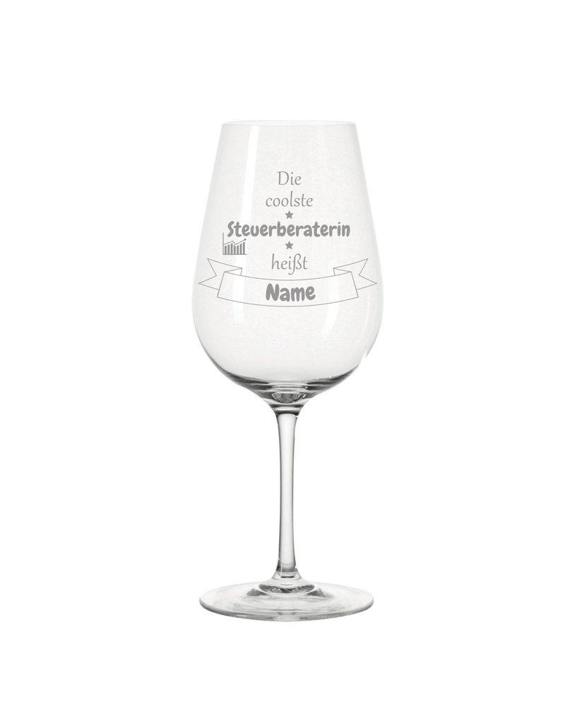 Leonardo Dank persönlicher Gravur wird das Weinglas für die coolste Steuerberaterin zum einzigartigen Geschenk!