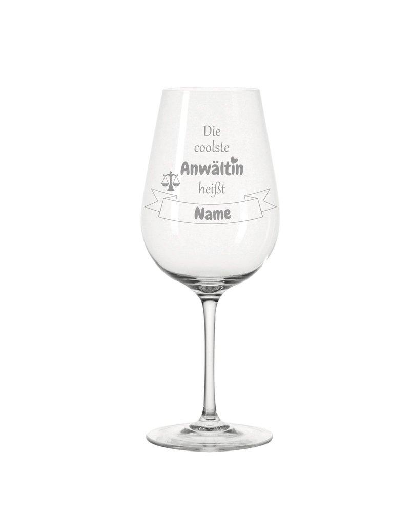 Leonardo Dank persönlicher Gravur wird das Weinglas für die coolste Anwältin zum einzigartigen Geschenk!