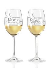 Leonardo Bereite Freude mit den Leonardo Weingläsern im Set für die beste Mama & den besten Papa der Welt!