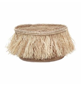 Bazar Bizar Small Natural Raffia Basket