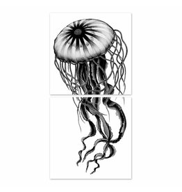 Boubouki Boubouki Jelly Fish sticker