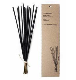 P.F. Candle & Co Teakwood and Tobacco No 4 Charcoal Incense Sticks