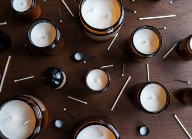 Kaarsen & wierrook