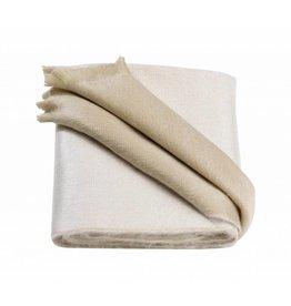 Alpacaloca Alpaca sjaal wit/beige
