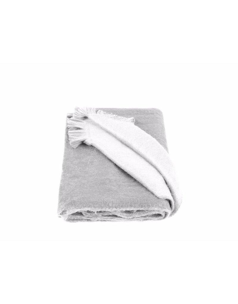 Alpacaloca Alpaca sjaal grijs/wit