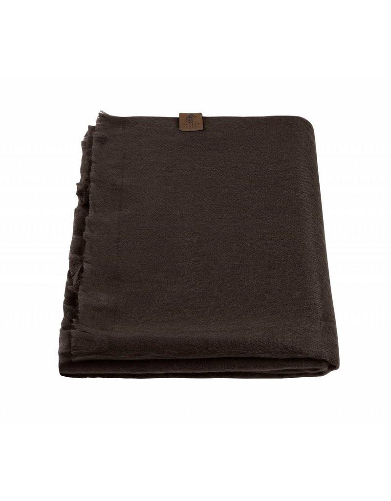Alpacaloca Alpaca sjaal bruin