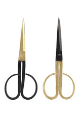 Monograph Brass Finished Steel Various Scissors
