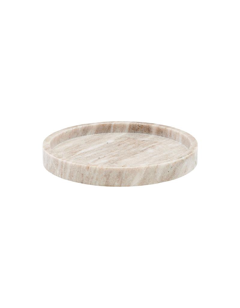 Meraki Beige Marble Tray