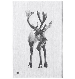 "Lapuan Kankurit Kitchentowel with moose ""Poro"" designer Teemu Jarvi"