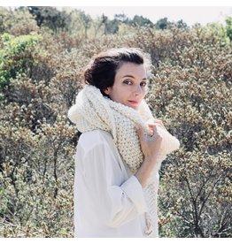 """Sukha sjaal """"Fleur"""" Nieuw-Zeelands wol"""
