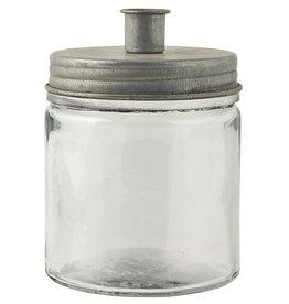 IBLaursen kaarsenpot met zinken deksel