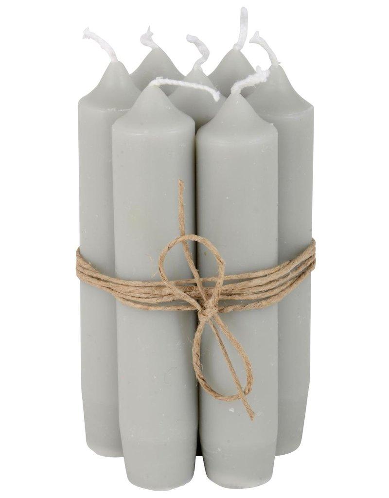 IBLaursen Candlejar wit lid zinc