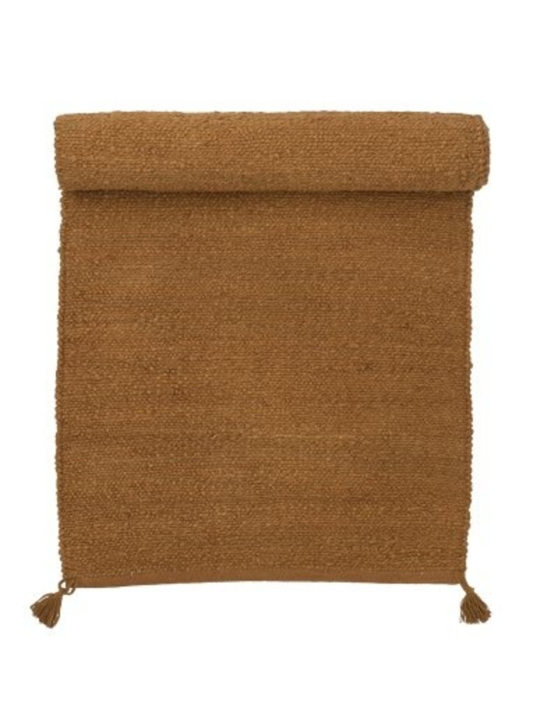 Bungalow rug jute, 70x240cm Cinnamon