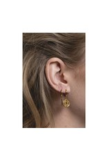 All The Luck In The World Earring 'Bar' Gold