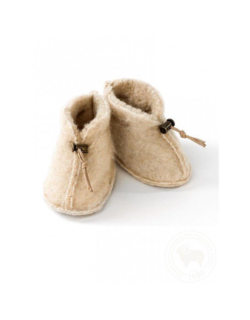 "Alwero Baby Shoes ""Emo"" Beige"