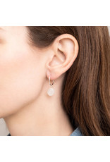 A Beautiful Story Earring 'Moonstone' Silver